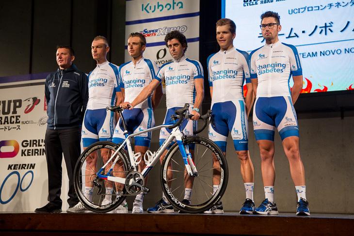 1型糖尿病の選手で構成されるチーム・ノボ ノルディスク