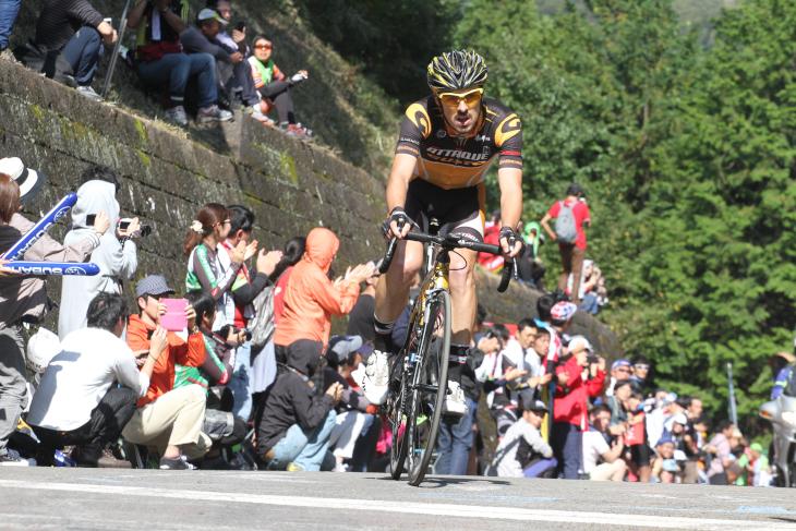 昨年大会で山岳賞を獲得したエリック・シェパード(オーストラリア)