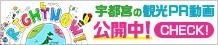 """宇都宮市の観光PR動画""""RIGHT NOW!宇都宮"""""""