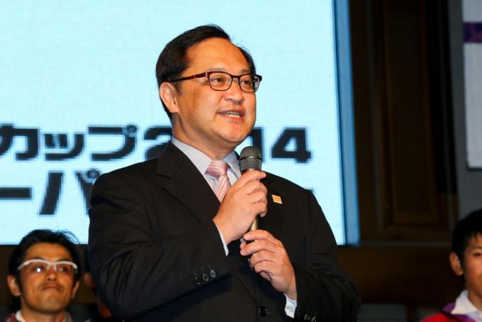 「来年のジャパンカップはさらにバージョンアップする」と荒川辰雄宇都宮市副市長
