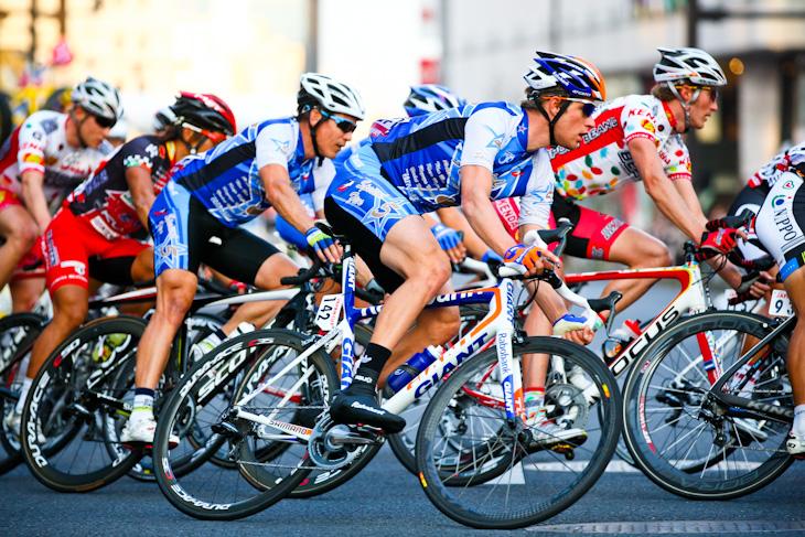 クリテリウムスペシャルチームで2012年大会を走ったテオ・ボス(オランダ、ディメンションデータ)