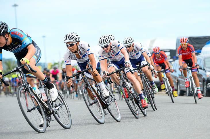 ジャパンカップ初出場が濃厚となったキナンサイクリングチーム