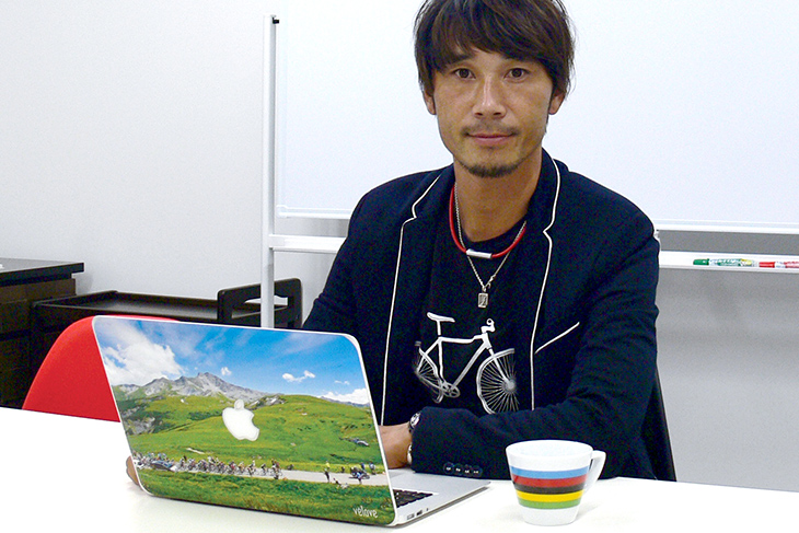 2012年に引退し、現在は宇都宮ブリッツェンGMを務める廣瀬佳正さん