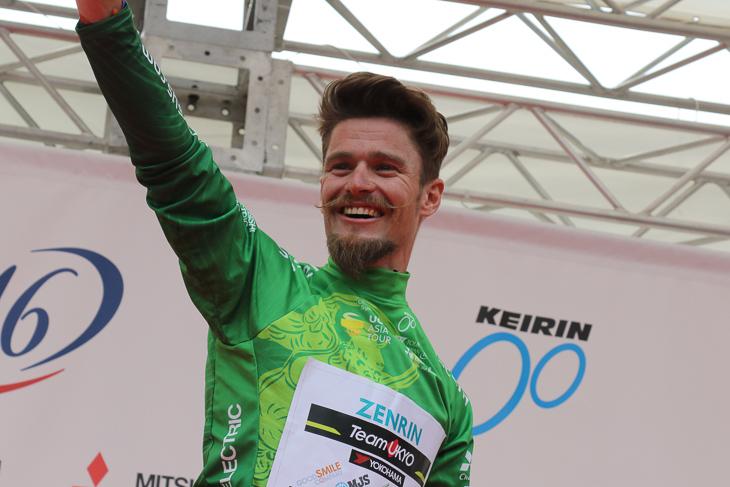 春の国内UCIレースを席巻したオスカル・プジョル・ムニョス(スペイン、チーム右京)
