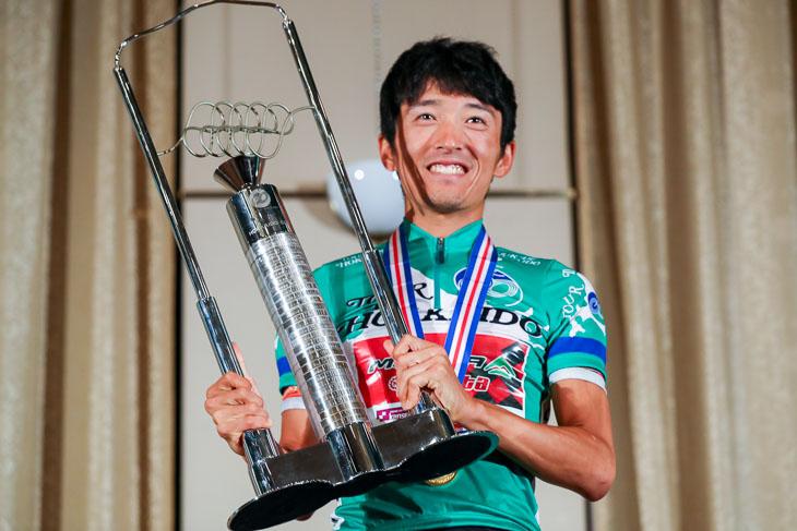 ツール・ド・北海道2016総合優勝を果たした増田成幸(宇都宮ブリッツェン)