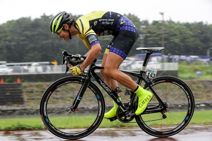 チーム1年目の下島将輝(那須ブラーゼン)。2days race in 木祖村2016で総合3位
