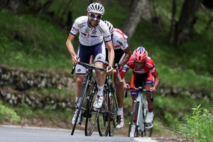 ツアー・オブ・ジャパン2016総合2位のマルコス・ガルシア(スペイン、キナンサイクリングチーム)