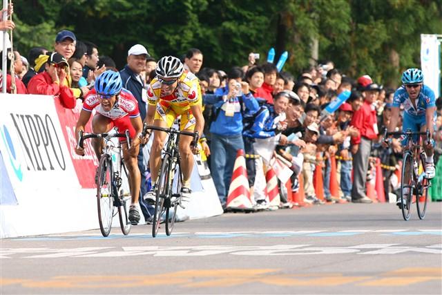 2006ジャパンカップで日本人最高位の7位に入った宮澤崇史(日本、チームバン)