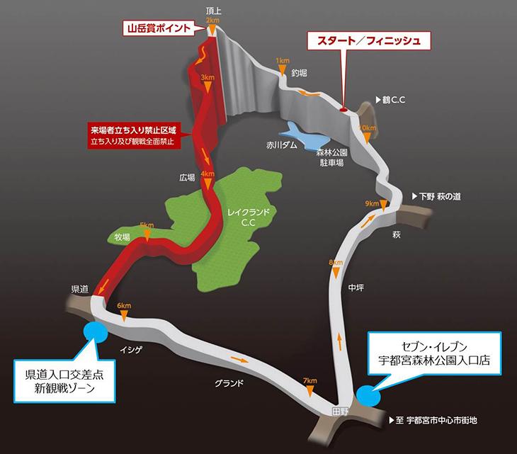 ロードレース コースマップ+新観戦ゾーン