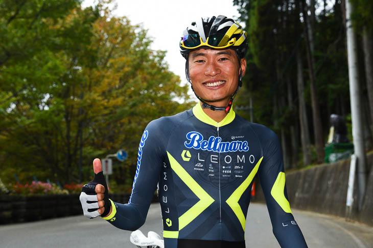 オープン男子2組で優勝した才田直人
