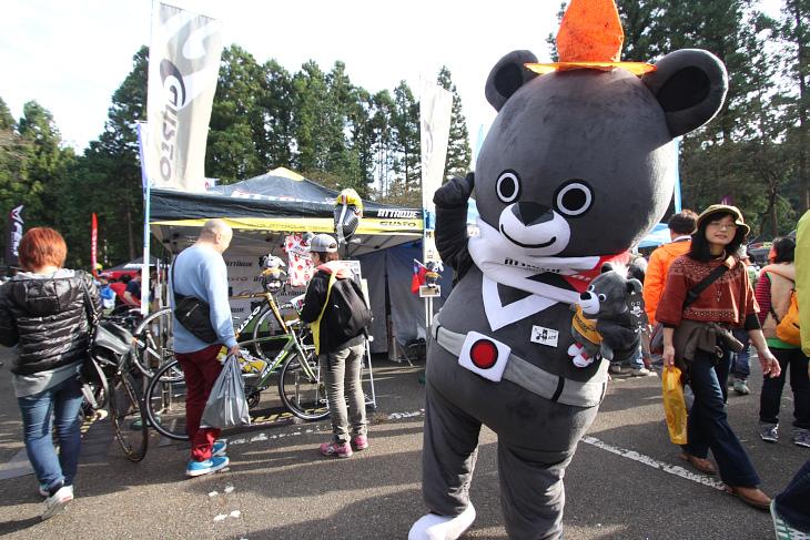 グストのマスコットキャラクターであるアタ吉くんとの記念撮影も人気です