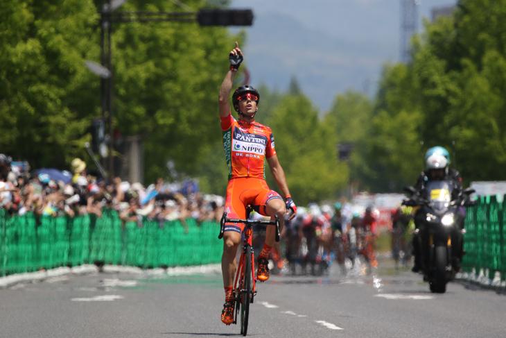 ツアー・オブ・ジャパン2017でステージ3勝を挙げたマルコ・カノラ(イタリア、NIPPO・ヴィーニファンティーニ)