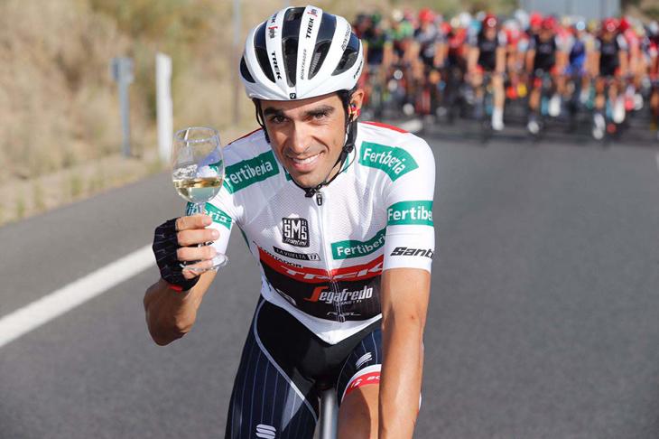 ブエルタ・ア・エスパーニャで引退となったアルベルト・コンタドール(スペイン、トレック・セガフレード)が来日