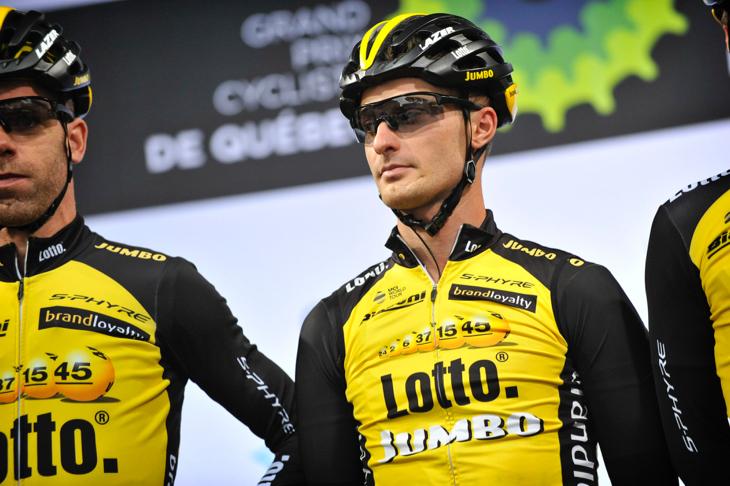 ジロ・デ・イタリアで過去にステージ2勝を挙げているエンリーコ・バッタリン(イタリア、チーム・ロットNL・ユンボ)