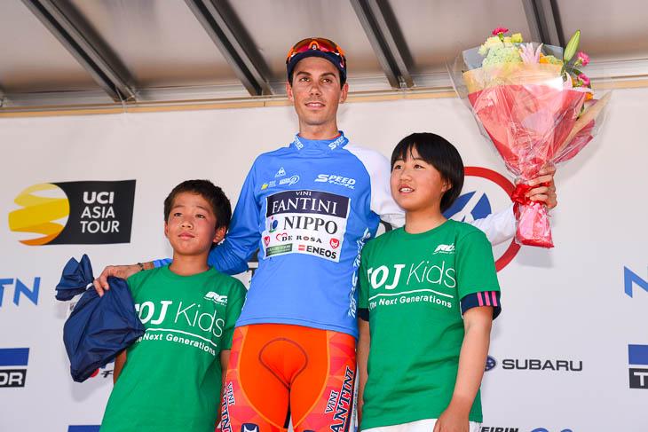 ツアー・オブ・ジャパンでステージ3勝を挙げたマルコ・カノラ(NIPPO・ヴィーニファンティーニ)