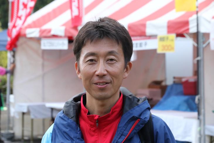 事故もなく無事終えてよかったと柿沼章・サイクルスポーツマネジメント社長