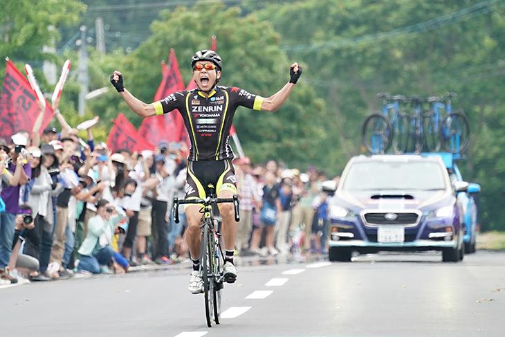 全日本選手権を独走で優勝した畑中勇介(チーム右京)