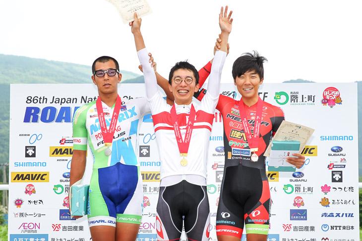 全日本選手権TTを2年連続で優勝した西薗良太