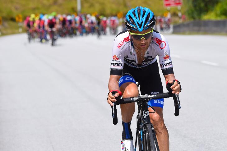 ツール・ド・ランカウイで総合優勝を果たしたアルテム・オヴェチキン(ロシア)を擁するトレンガヌ・サイクリング・チーム