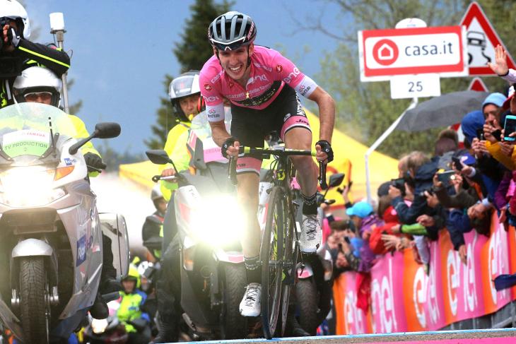 2018年のジロ・デ・イタリアでインプレッシブな走りを見せたサイモン・イエーツ(イギリス)