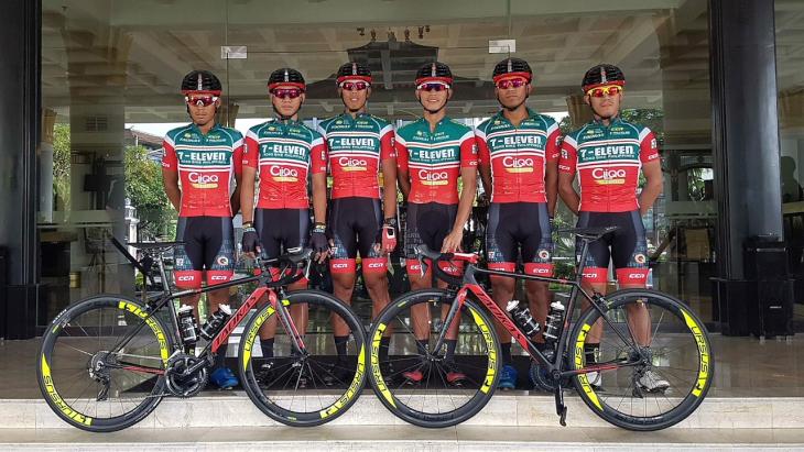 金子大介ら日本人選手も所属するセブンイレブン・クリック・ロードバイクフィリピン