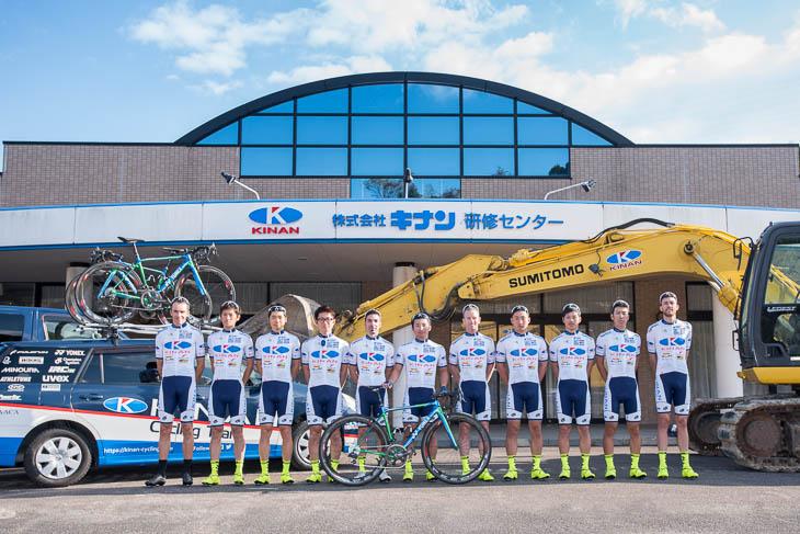 国内外で活躍するキナンサイクリングチーム