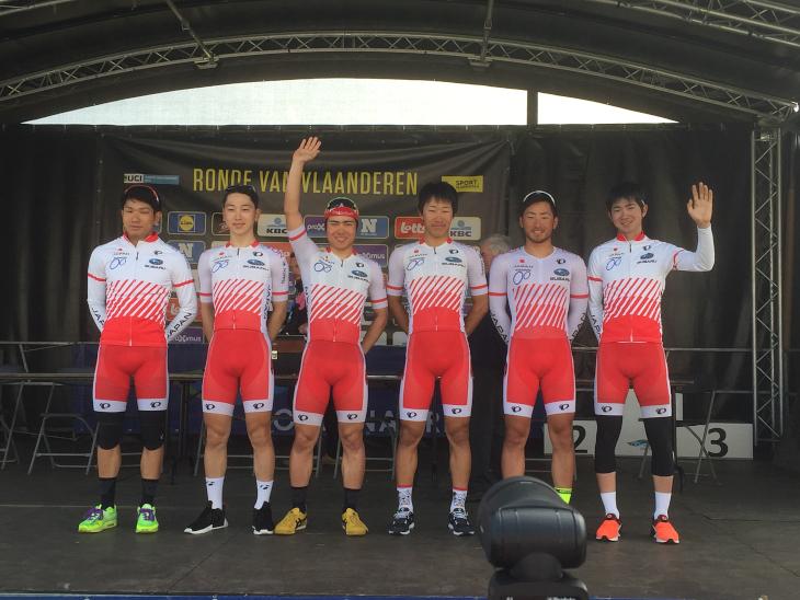 U23の選手たちを集めた布陣でジャパンカップに臨む日本ナショナルチーム