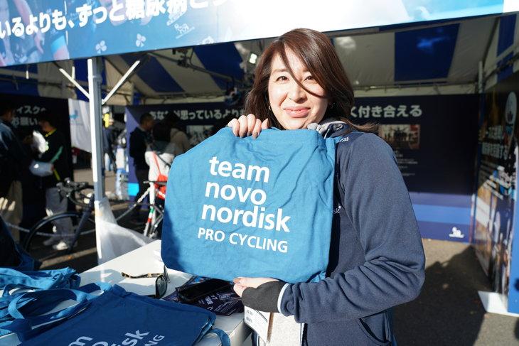 ノボ ノルディスクでは多数のキャンペーンを実施中。オリジナルサコッシュももらえます