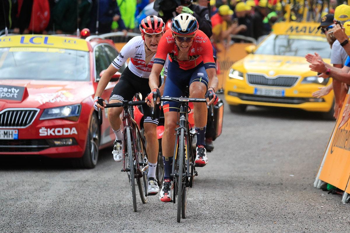 ツール・ド・フランス2019第6ステージで逃げ切り優勝を遂げたディラン・トゥーンス(バーレーン・メリダ)