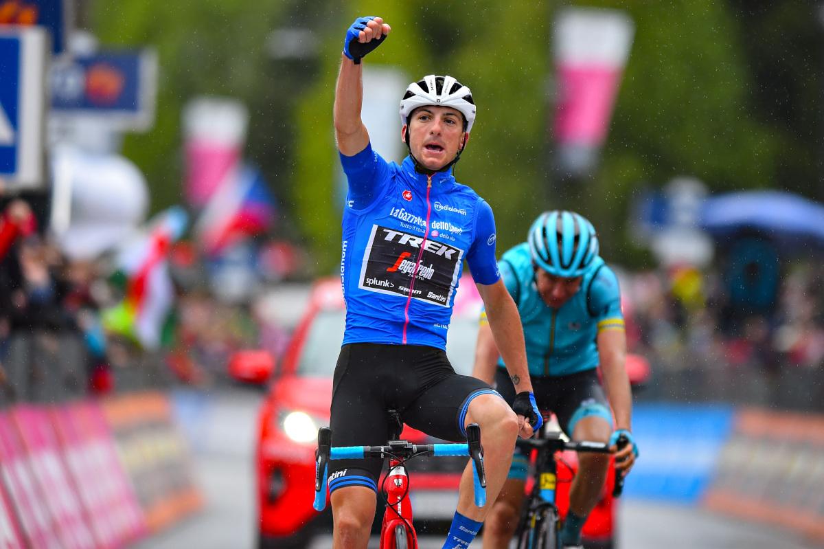 今年のジロ・デ・イタリアで山岳賞を獲得したジュリオ・チッコーネ(トレック・セガフレード)