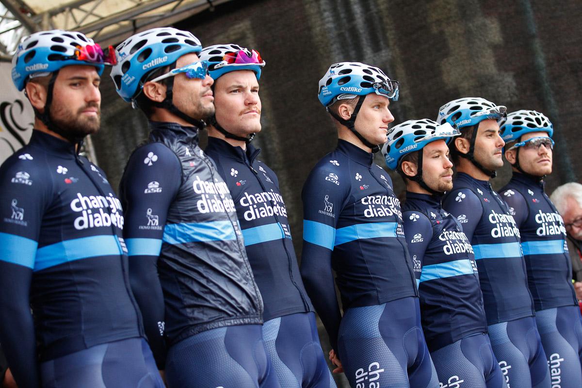 選手全員が1型糖尿病患者で構成されたチーム ノボ ノルディスク(アメリカ)
