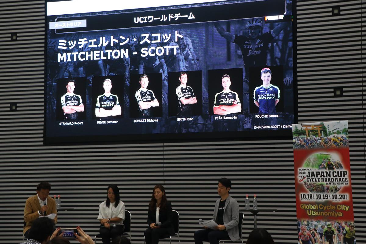 ミッチェルトン・スコットの布陣。昨年優勝者ロブ・パワーは他チームへ移籍