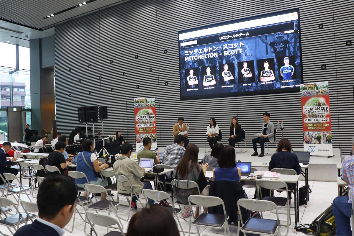 東京・恵比寿のSUBARU STAR SQUAREで記者発表会が行われた