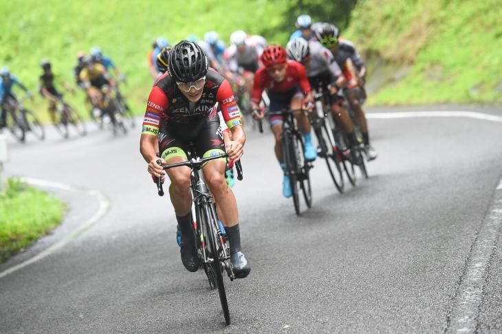 全日本選手権で2位に入った横塚浩平