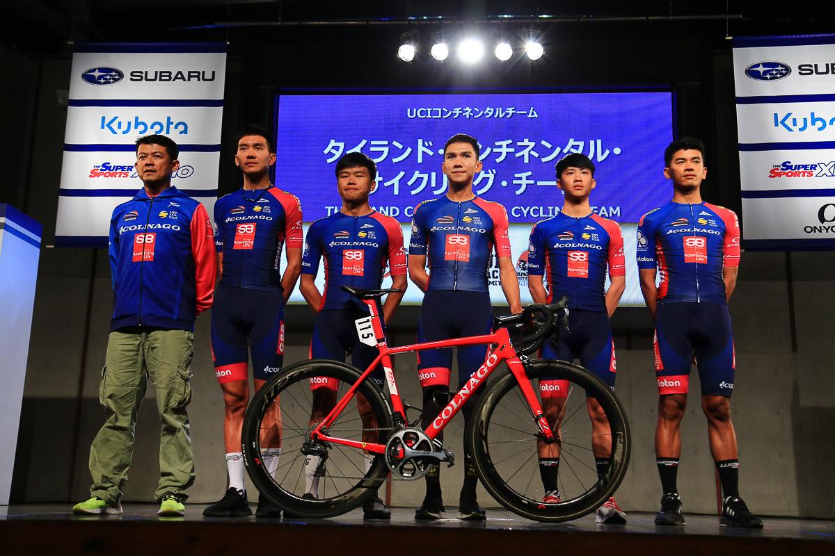 昨年に続きタイランド・コンチネンタル・サイクリング・チームが出場