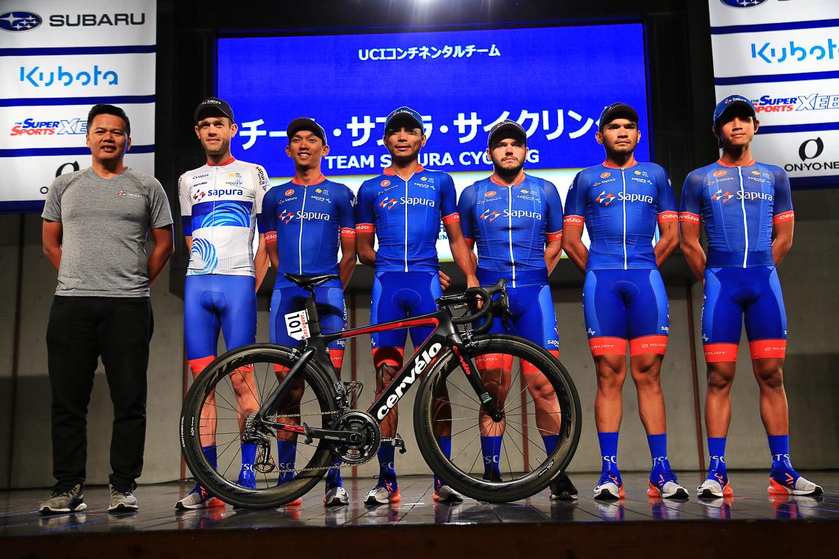UCIアジアランキング上位を争うチーム・サプラ・サイクリング