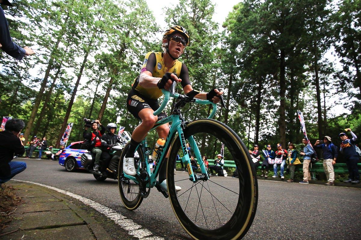 2度の山岳賞を獲得したクーン・ボウマン(オランダ、ユンボ・ヴィズマ)