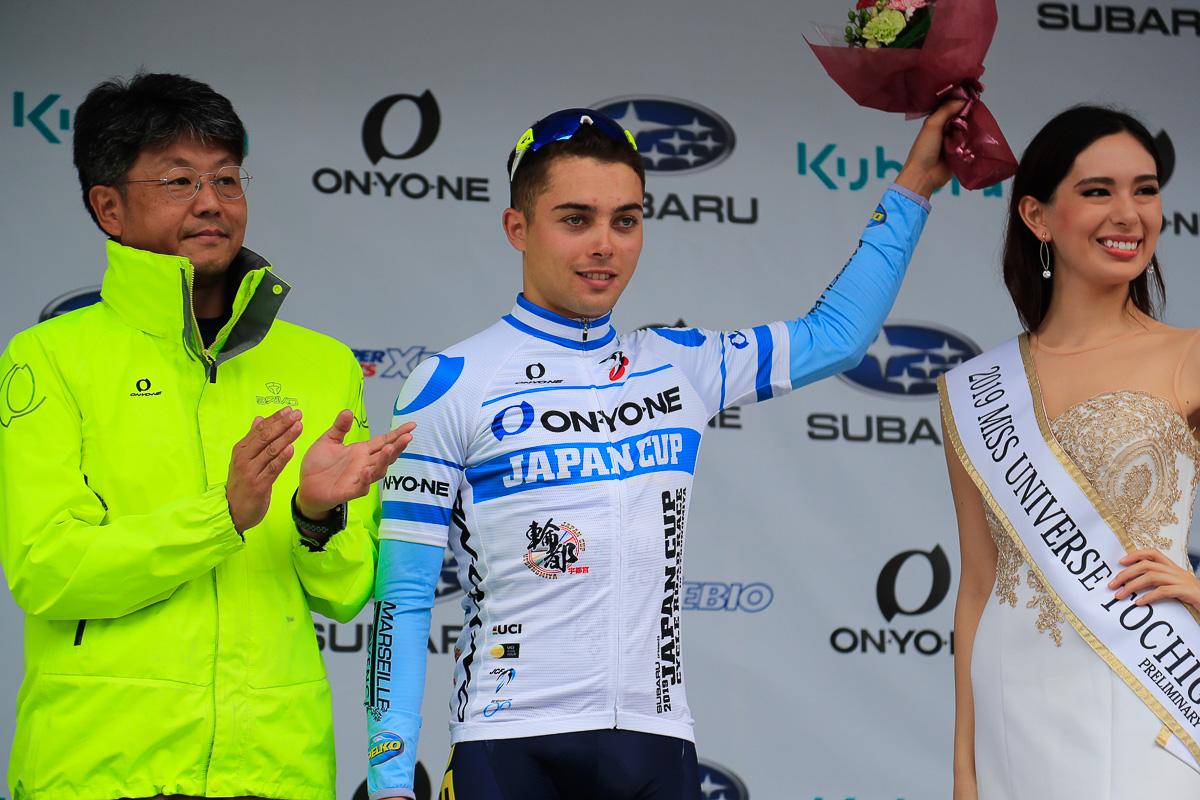 新人賞を獲得したアレクサンドル・ドゥレットル(フランス、デルコ・マルセイユ・プロヴァンス)