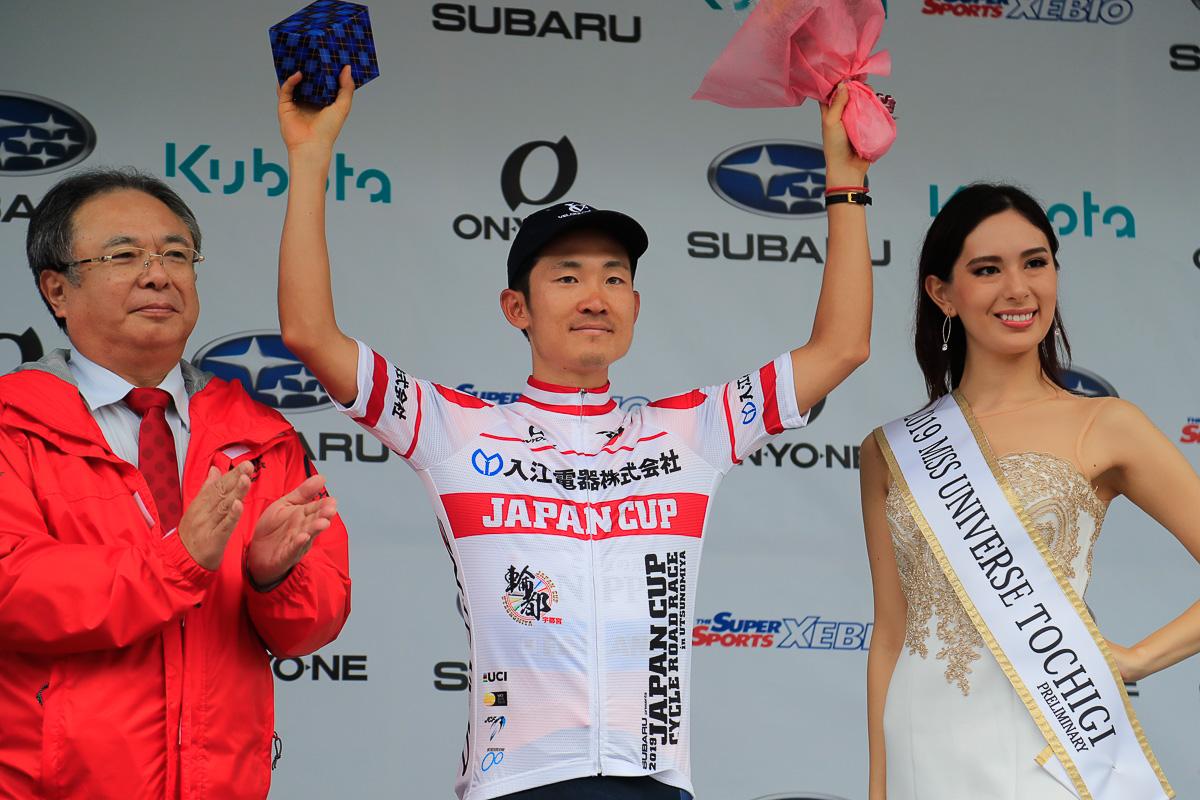 全体6位、アジアンライダー首位となった中根英登(日本、NIPPOヴィーニファンティーニ・ファイザネ)