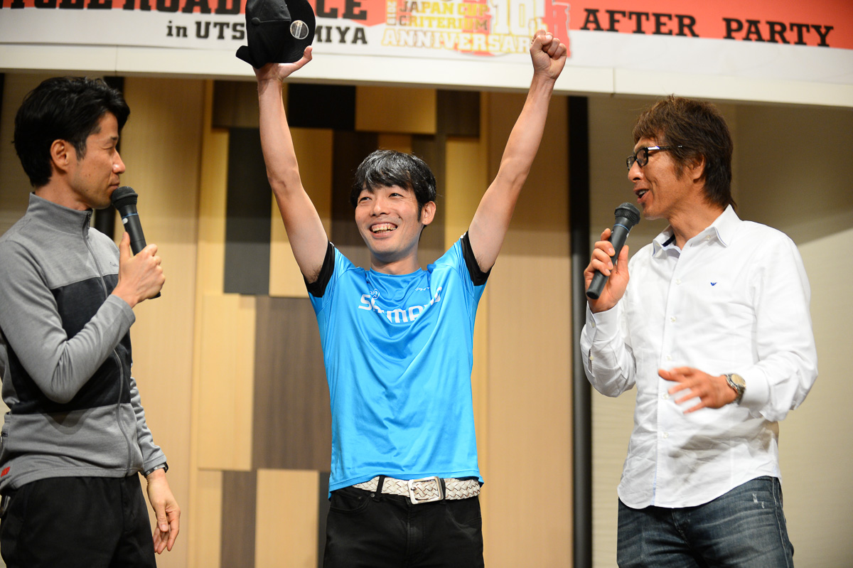 栗村修氏と今中大介氏のトークショーのネタは全日本チャンピオンの入部正太朗