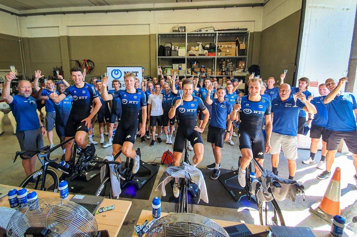 入部正太朗も走るNTTプロサイクリング。今年初開催のバーチャル・ツール・ド・フランスで4賞全てを獲得