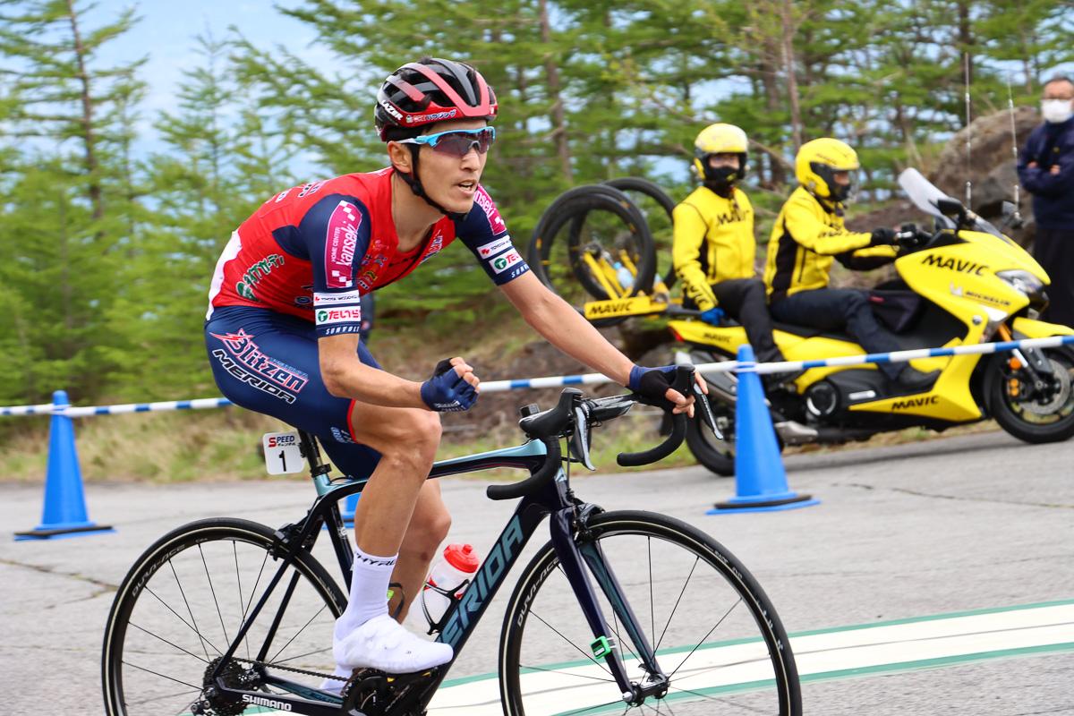 ツアー・オブ・ジャパン2021で総合優勝を遂げた増田成幸(宇都宮ブリッツェン)