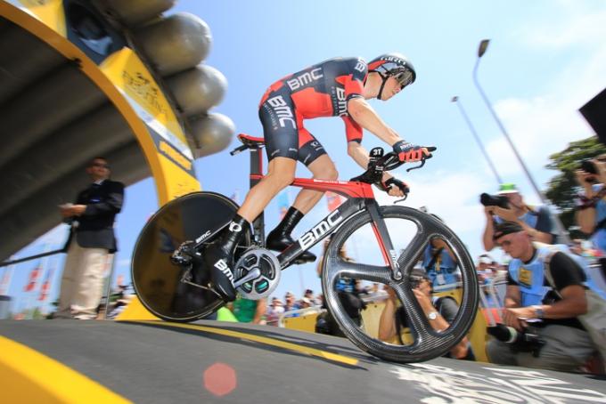ツール・ド・フランス2015第1ステージ個人TTを制したローハン・デニス(オーストラリア)