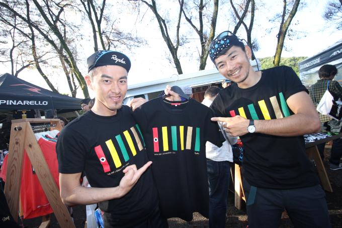 宇都宮の郷土玩具きぶなをモチーフとしたRaphaのジャパンカップ限定Tシャツ