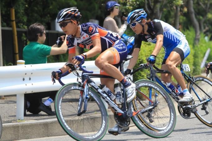 今季より加入した西薗良太(日本、チャンピオンシステム・プロサイクリングチーム)
