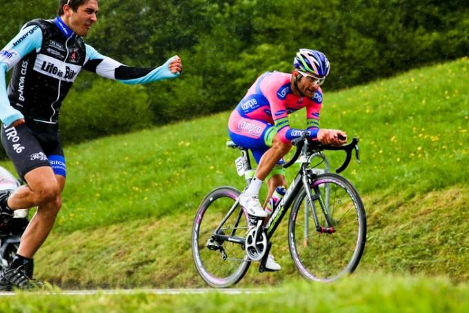 2011年のジロ覇者ミケーレ・スカルポーニ(イタリア)
