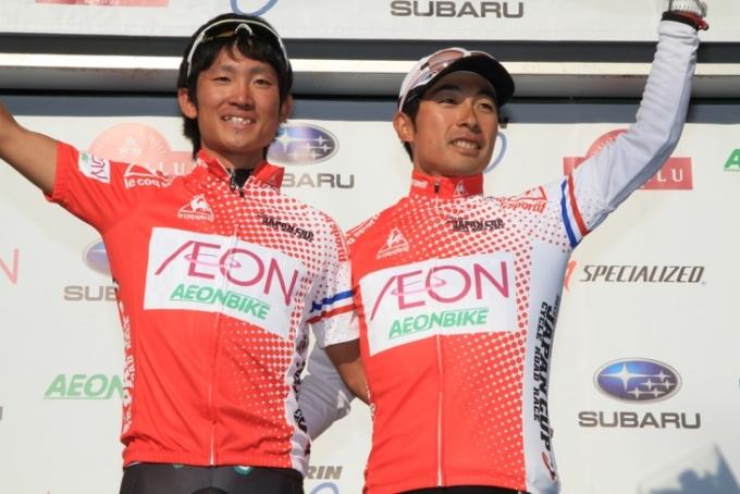 山岳賞は中根英登(チームNIPPO)が2回、井上和郎(チームブリヂストン・アンカー)が1回獲得