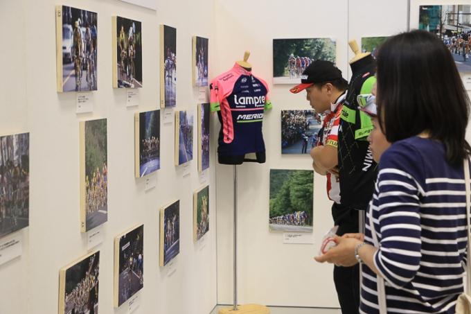 昨年のジャパンカップミュージアムに用意されたミニ写真展「ジャパンカップの軌跡」