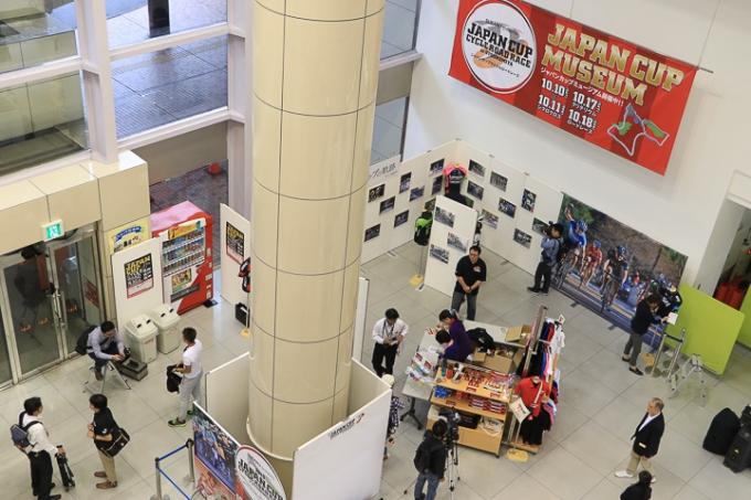 ララスクエア1Fスペースのジャパンカップミュージアム