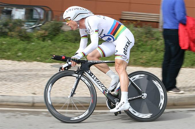 世界TTチャンピオン、トニ・マルティン(ドイツ、オメガファーマ・クイックステップ)